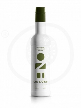 One & Olive Early Harvest Extra Virgin Olivenolje fra Messinia